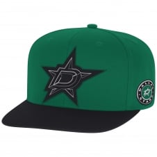 NHL Dallas Stars Face Off Two Tone Snapback Cap