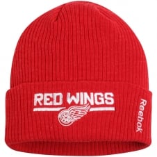 NHL Detroit Red Wings Center Ice Locker Room Cuffed Knit