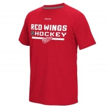 NHL Detroit Red Wings Center Ice Locker Room T-Shirt