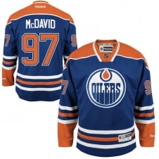 NHL Edmonton Oilers Connor McDavid Home Premier Jersey