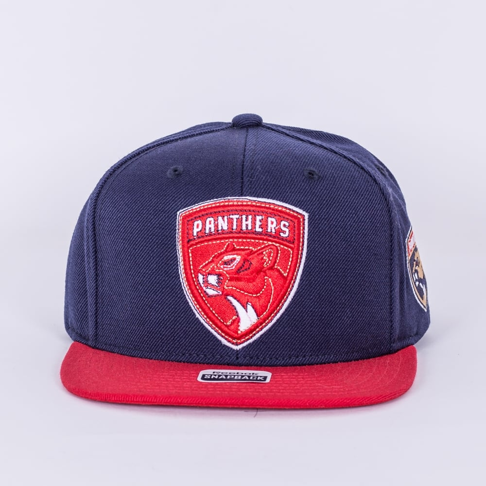 competitive price f76a4 c7eb9 NHL Florida Panthers Face Off Two Tone Snapback Cap