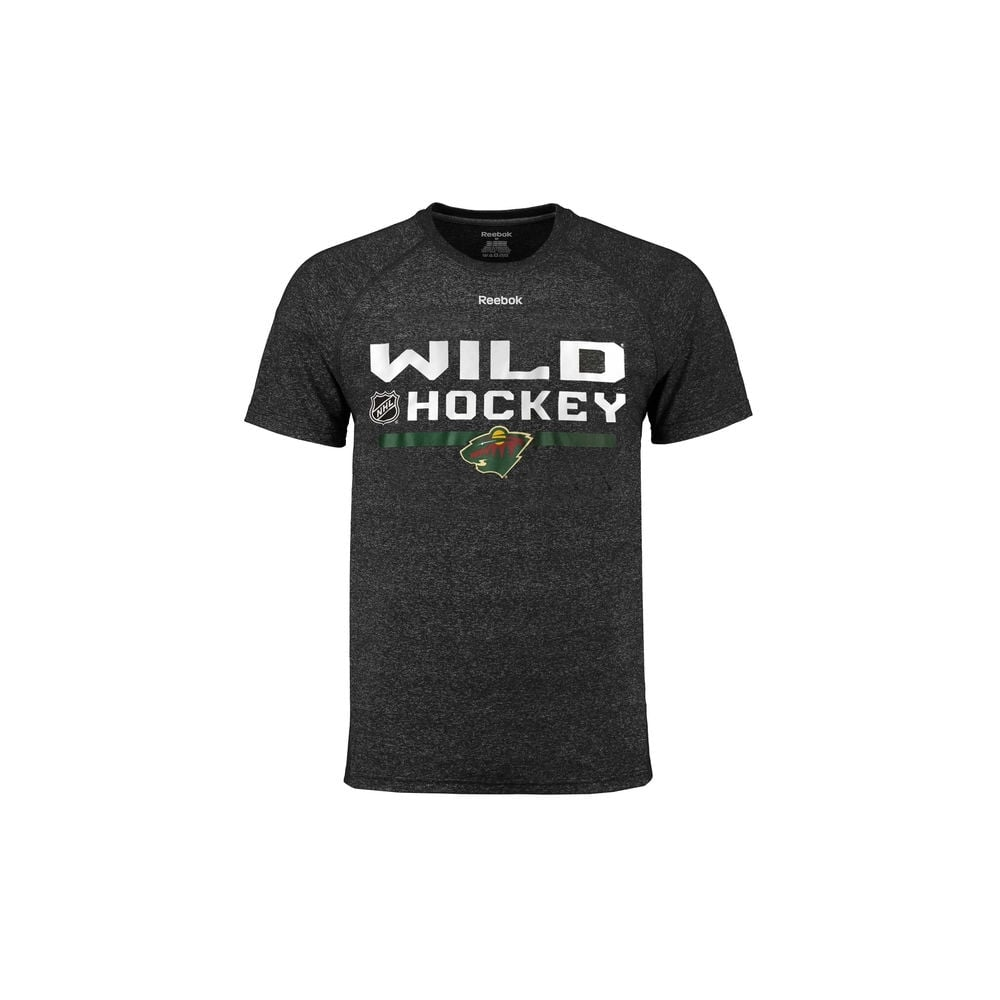 Reebok NHL Minnesota Wild Center Ice Locker Room T-Shirt - Teams ... 4700583c3