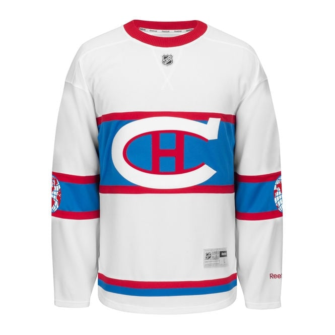 Reebok NHL Montreal Canadiens 2016 Winter Classic Premier Jersey