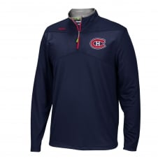 NHL Montreal Canadiens Center Ice 1/4 Zip Top