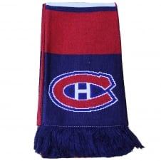 NHL Montreal Canadiens Face Off Scarf