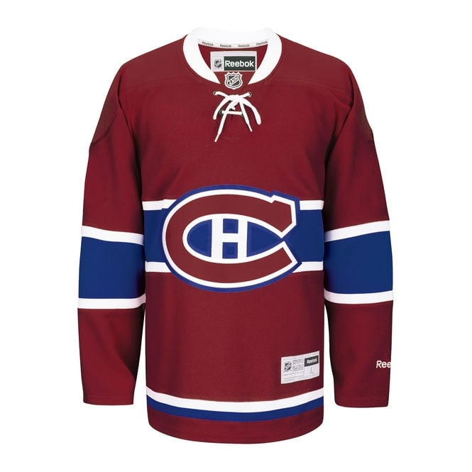 Reebok NHL Montreal Canadiens Home Premier Jersey
