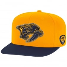 NHL Nashville Preadtors Face Off Two Tone Snapback Cap