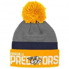 NHL Nashville Predators Center Ice Team Pom Knit