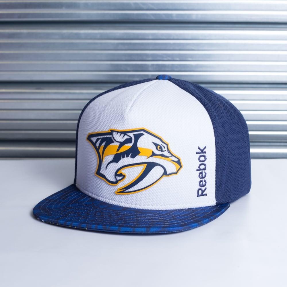 37a8c2e8992 Reebok NHL Nashville Predators Storm Snapback Cap - Teams from USA ...