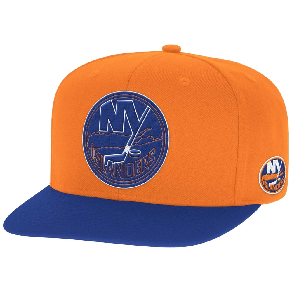 check out 9dd30 d5a05 NHL New York Islanders Face Off Two Tone Snapback Cap