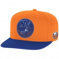 NHL New York Islanders Face Off Two Tone Snapback Cap