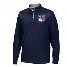 NHL New York Rangers Center Ice 1/4 Zip Top