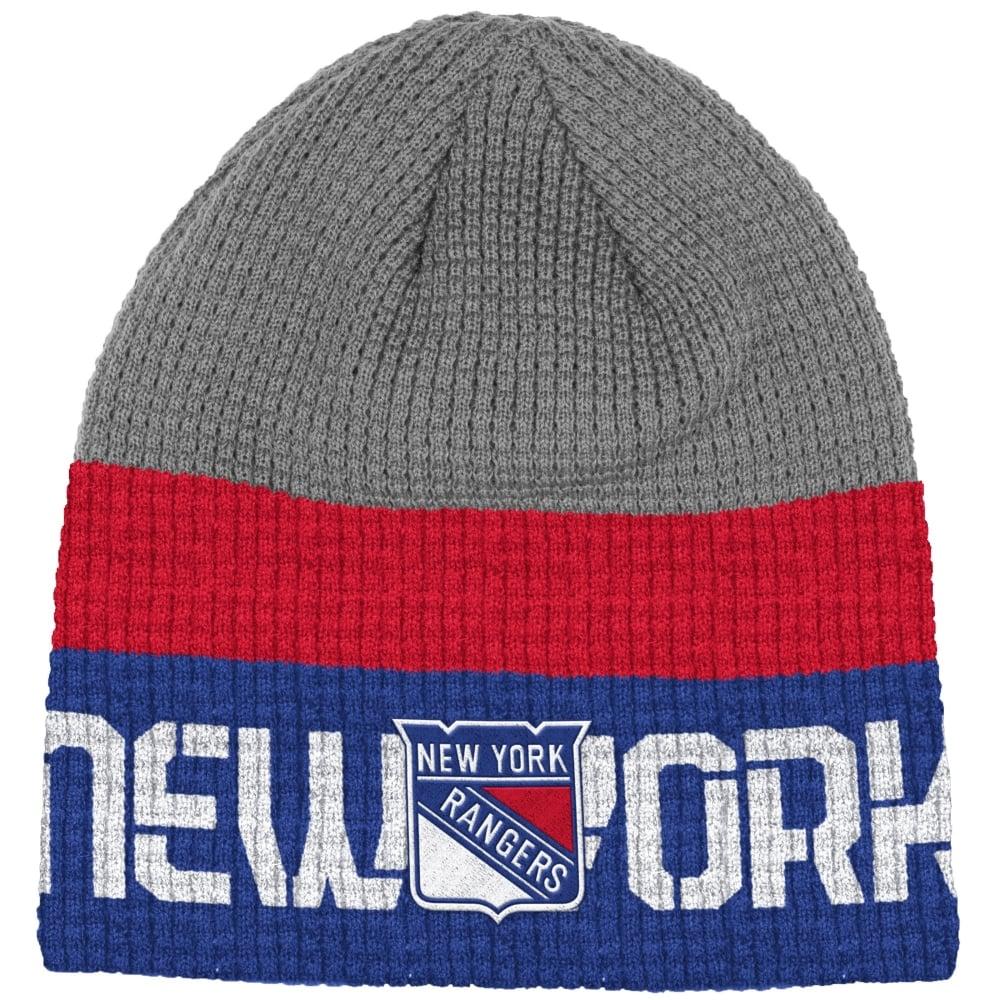 0100c36eeef Reebok NHL New York Rangers Center Ice Beanie Knit - Teams from USA ...