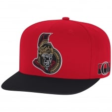 NHL Ottawa Senators Face Off Two Tone Snapback Cap