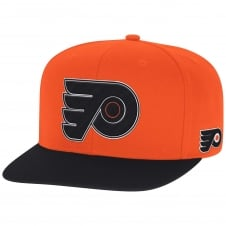NHL Philadelphia Flyers Face Off Two Tone Snapback Cap