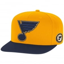 NHL St. Louis Blues Face Off Two Tone Snapback Cap