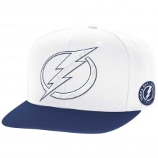 NHL Tampa Bay Lightning Face Off Two Tone Snapback Cap