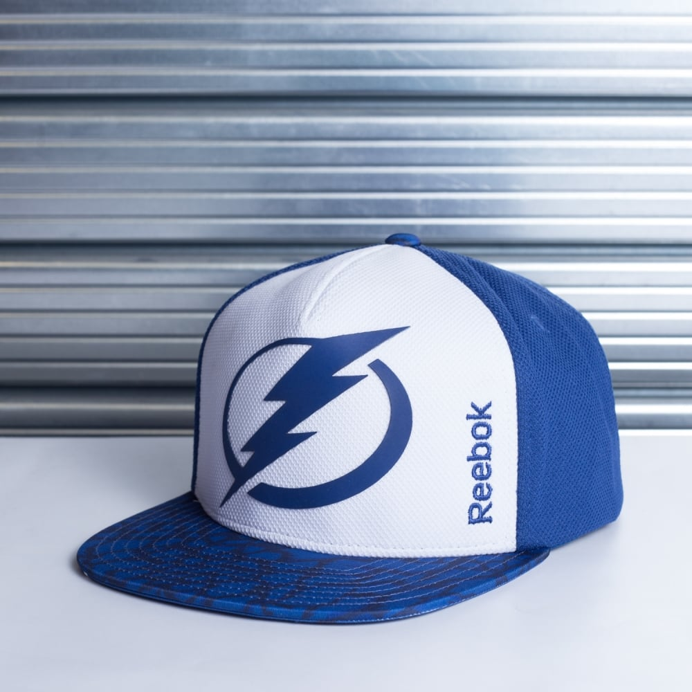 Reebok NHL Tampa Bay Lightning Storm Snapback Cap - Teams from USA ... 986c9f6c2d44
