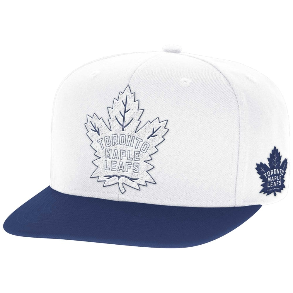 buy popular c8834 98bbd NHL Toronto Maple Leafs Face Off Two Tone Snapback Cap
