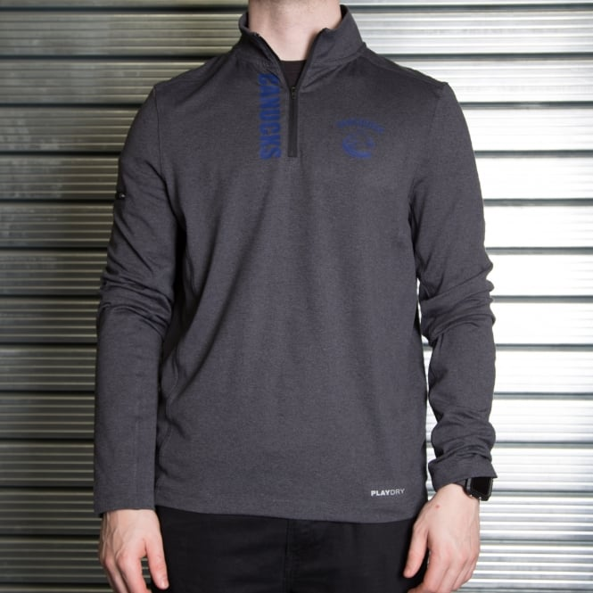 Reebok NHL Vancouver Canucks Quarter-Zip Tech Jacket