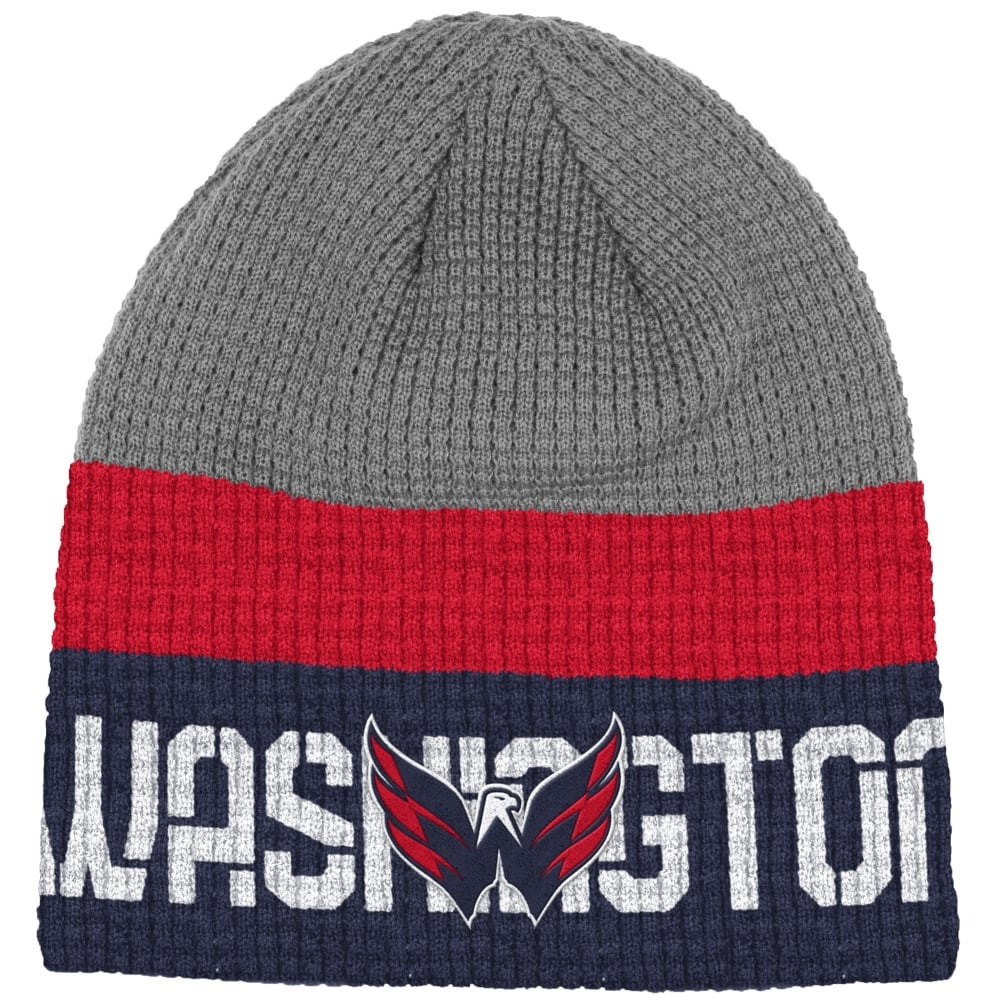 acc6506725f Reebok NHL Washington Capitals Center Ice Beanie Knit - Teams from ...