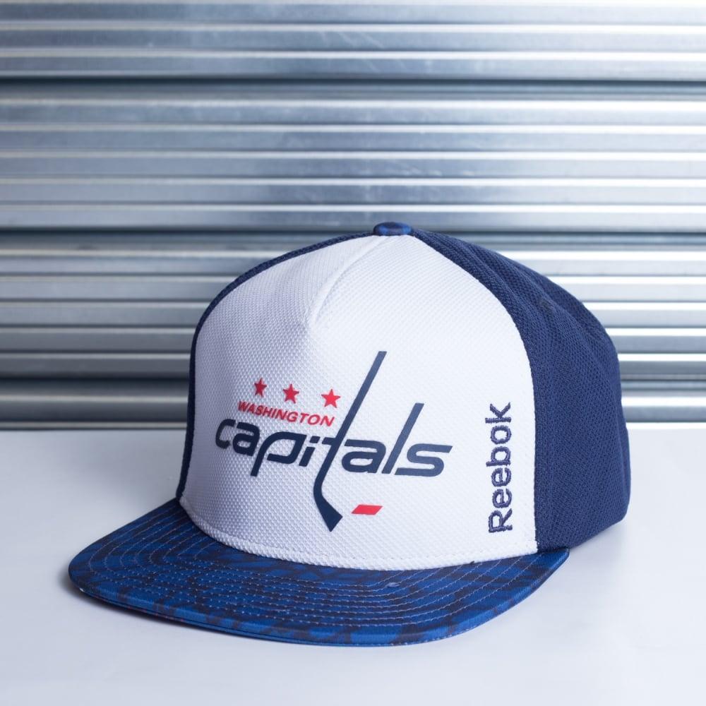 Reebok NHL Washington Capitals Storm Snapback Cap - Teams from USA ... aa788a4870e