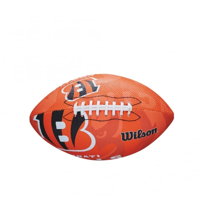 Wilson NFL Cincinnati Bengals Team Logo Junior Football