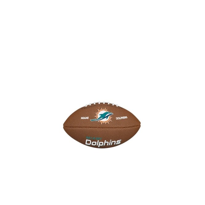 Wilson NFL Miami Dolphins Mini Soft Touch Football