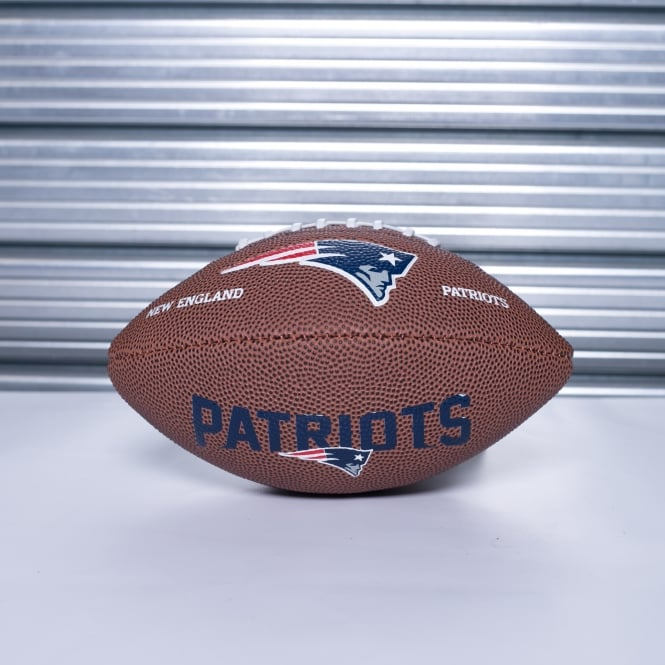 Wilson NFL New England Patriots Mini Soft Touch Football