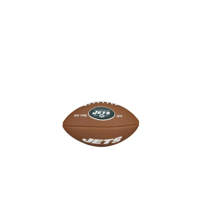 Wilson NFL New York Jets Mini Soft Touch Football