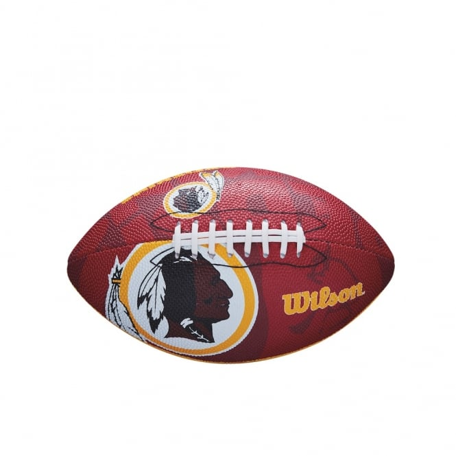Wilson NFL Washington Redskins Team Logo Junior Football