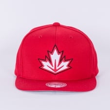 World Cup Of Hockey Team Canada Red Adjustable Snapback