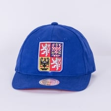 World Cup Of Hockey Team Czech Republic Blue Adjustable Backstrap Cap