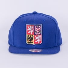 World Cup Of Hockey Team Czech Republic Blue Adjustable Snapback