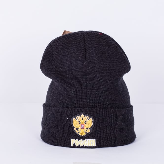 Mitchell & Ness World Cup Of Hockey Team Russia Solid Cuffed Knit