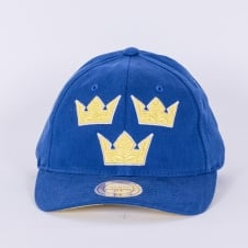 World Cup Of Hockey Team Sweden Blue Adjustable Backstrap Cap
