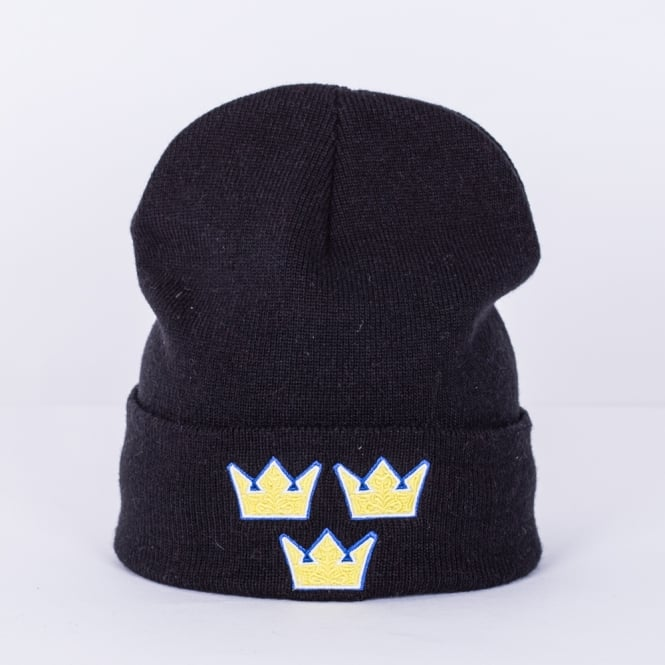 Mitchell & Ness World Cup Of Hockey Team Sweden Solid Cuffed Knit
